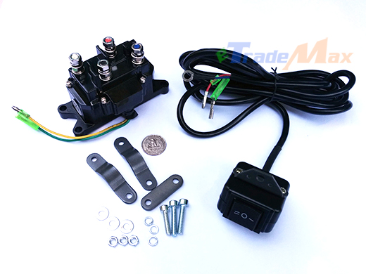 find combo waterproof 12v atv utv solenoid relay contractor and winch rocker switch motorcycle. Black Bedroom Furniture Sets. Home Design Ideas
